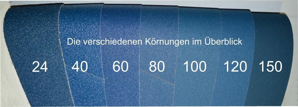 10 Stück KÖRNUNG 100 Schleifband  50 x 1020 mm ZIRKON X- Gewebe Neu!!!